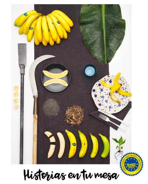 Origen España Plátano de Canarias