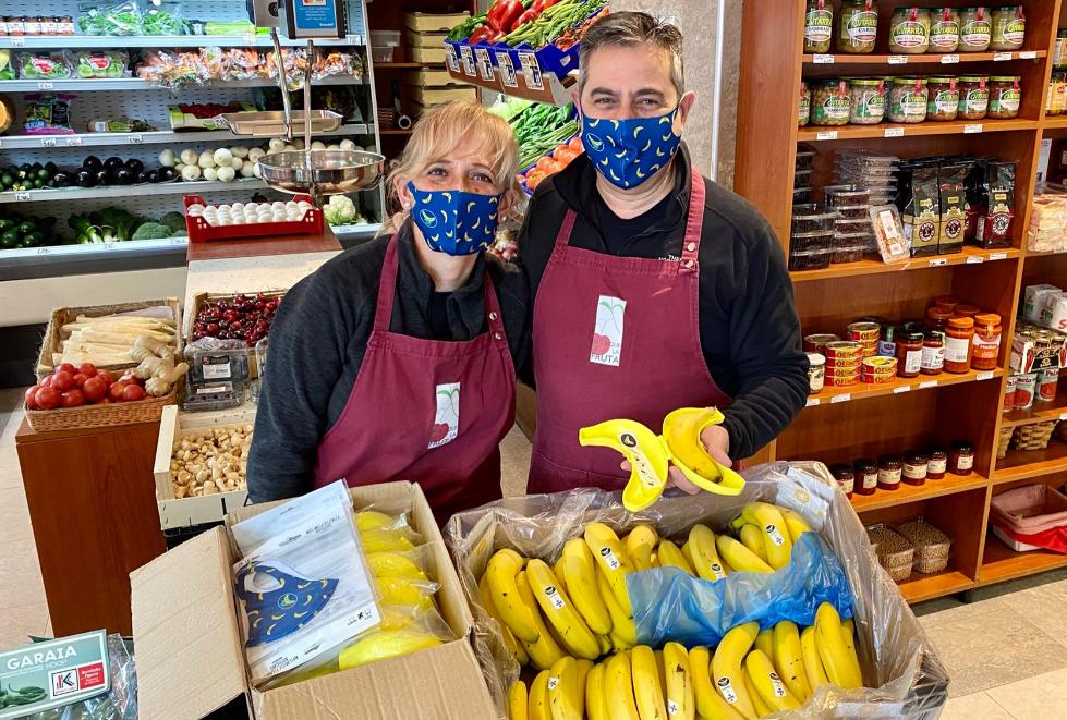 Frutero del mes de diciembre - Plátano de Canarias